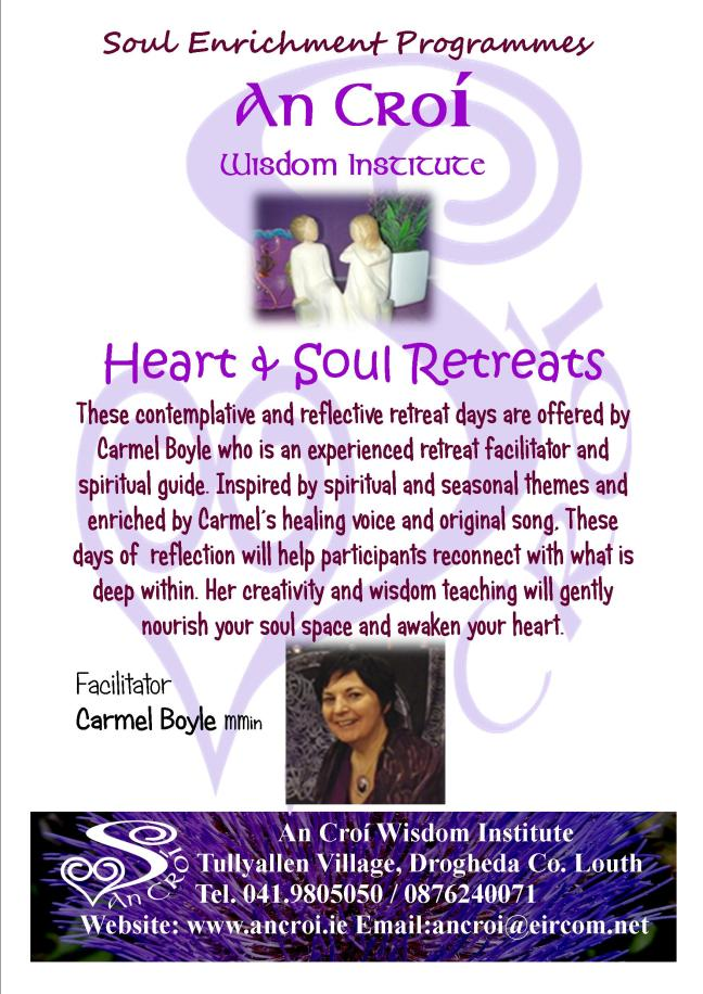 Heart and Soul Retreats 2017 flyer a