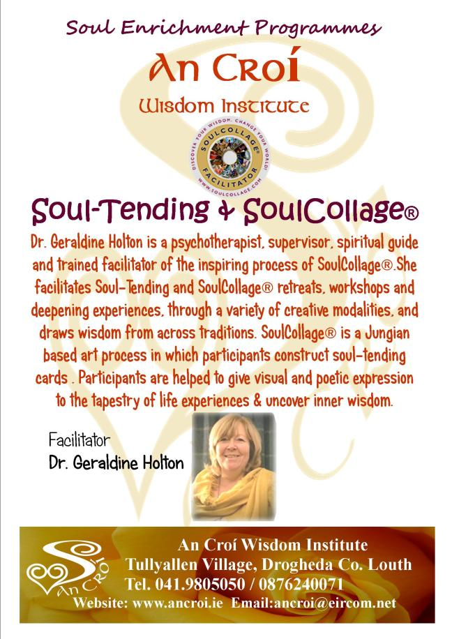 Soul Tending and soulcollagel 2017 flyer a