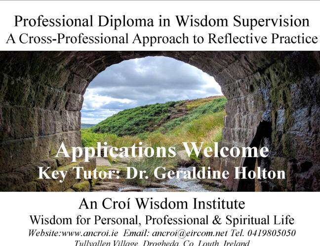 Wisdom Supervision Postcard Jan 2018