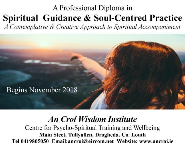 Spiritual Guidance & Soul Centred Practice postcard 2018