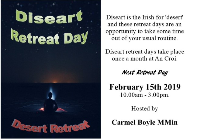 diseart retreat days postcard