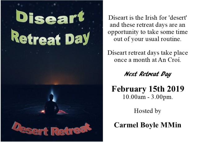 diseart retreat days postcard