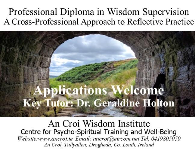 wisdom supervision postcard aug 2019